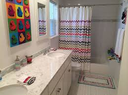 traditional full bathroom with drop in bathtub u0026 double sink in