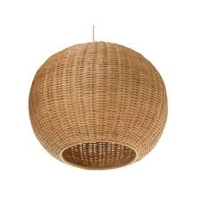 Wicker Pendant Light by Rattan Pendant Light Modern 30cm Coffee Rattan Wicker Ball Ceiling