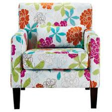 Floral Accent Chairs Living Room Floral Accent Chairs Foter Pertaining To Print Interior 6