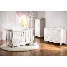 Crib White Convertible by Baby Appleseed Millbury 3 Piece Nursery Set Convertible Crib