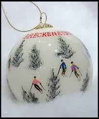 breckenridge ski ornament