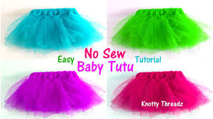 tutu skirts how to make a no sew tutu for babies easy pretty