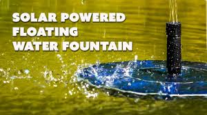 Solar Lights For Ponds by Solar Powered Water Fountain Birdbath Floating Water Fountain For