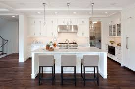 add your kitchen with kitchen island with stools midcityeast place minimalist white kitchen island with grey lather stools on hardwood flooring near white cabinets