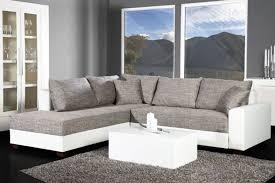 canape gris et blanc canapé d angle convertible blanc gris vigo idées pour la maison