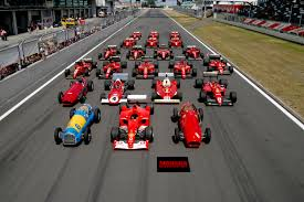 ferrari f1 file ferrari formula 1 lineup at the nürburgring jpg wikimedia commons