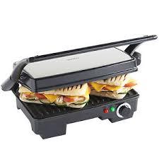 Toaster With Sandwich Maker Toasted Sandwich Maker Ebay