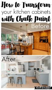 how to paint kitchen cupboards with chalk paint how to paint your kitchen cabinets with chalk paint dwell