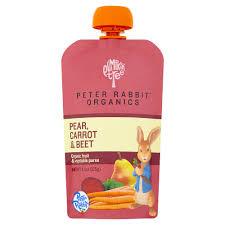 rabbit organics reviews rabbit organics apple carrot and pumpkin puree 4 4 ounce