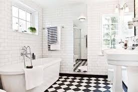 black white bathroom tiles ideas decoration black and white bathroom floor tile retro black white