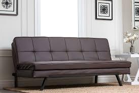 Abbyson Leather Sofa Reviews Amazon Com Abbyson Bayside Convertible Sofa Home U0026 Kitchen