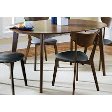 overstock dining room tables coaster company walnut dining table free shipping today
