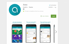 delivery service app areo with food delivery and home service launches in india