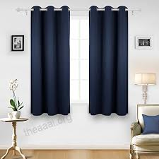 living room curtain panels deconovo room darkening thermal insulated grommet blackout window