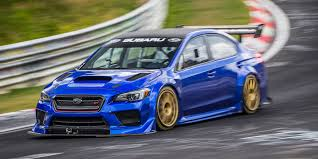 modified subaru wrx subaru u0027s bonkers wrx sti race car ran a sub 7 00 at the nurburgring