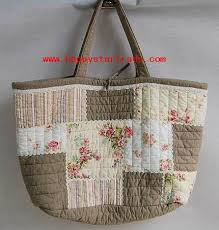 25 unique quilted tote bags ideas on diy quilted bags