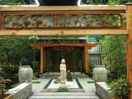 Japanese Style Pergola by 2012 Garden Shows Displays That Rose To The Top Oregonlive Com