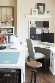 Room Desk Ideas Sewing Room Tour Inspired