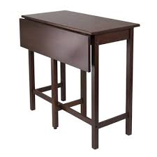 wood counter height table winsome wood 94149 lynnwood drop leaf counter height table lowe s