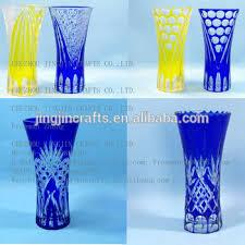 Round Cylinder Vases Handmade High Quality Elegant Customized Glass Vases Tall Cylinder
