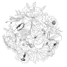 96 dessins de coloriage nature paysage à imprimer