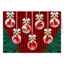 rodeo events ornaments postage sts gifts color