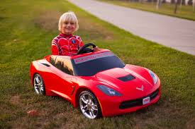 barbie corvette unboxing the new power wheels 2014 corvette stingray youtube