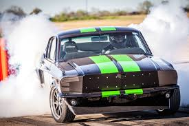 toyota drag car ford mustang electric drag car does 0 to 60 mph 2 seconds