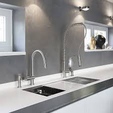 modern kitchen faucets stainless steel exquisite kitchen faucets merge italian design with aesthetics
