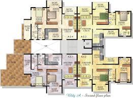 building floor plan floor plans saville builders real estate developers goa