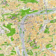 Map Of Czech Republic Prague City Center Map Prague Czech Republic U2022 Mappery