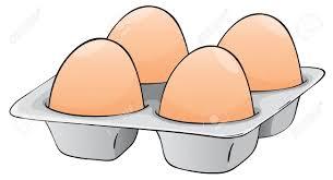 egg tray clipart clipartxtras