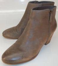 womens leather ankle boots size 9 crown vintage ankle boots for us size 9 ebay