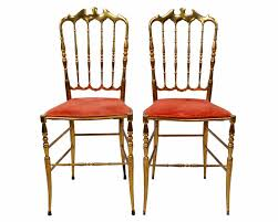 set of six bronze chiavari chairs for sale at 1stdibs