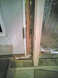 basement how to frame a wall around existing exterior door