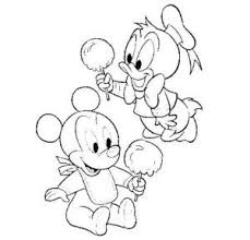 donald duck coloring page donald and mickey disney christmas
