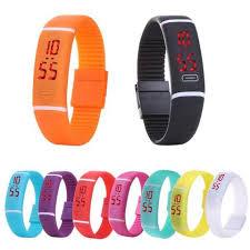 silicone bracelet watches images New led watches women dress fashion digital wristwatches men sport jpg