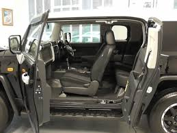 toyota jeep white used black met with white roof toyota fj cruiser for sale surrey