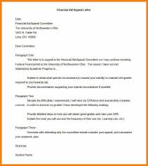 7 appeal letter sample report example