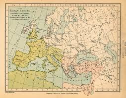 Map Of The Roman Empire Roman Empire In The 4th Century Worldmap