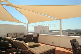 beige u0026 sandy color 3x3x3m triangle shade net sun shade sail