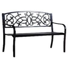 black outdoor benches you u0027ll love wayfair