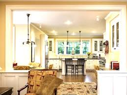 open kitchen floor plan open floor plan kitchen and awesome living room bright small plans