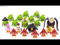 all lego angry birds figures together youtube