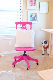 wood desk chair makeover with behr marquee dream a little bigger
