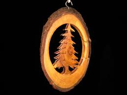 tree branch christmas ornament woodworking youtube