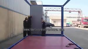 40ft prefabricated storage prefab shipping container homes china