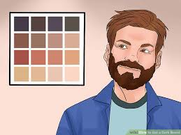 what to be careful for when dying thin hair 3 ways to get a dark beard wikihow