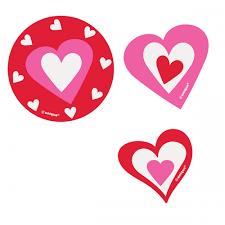 hearts confetti card cutouts hearts confetti card