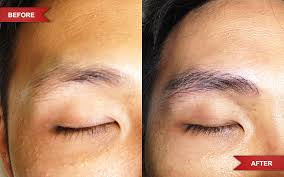mens eyebrow tattoo 01 3d cosmetic tattoo gold coast specialist